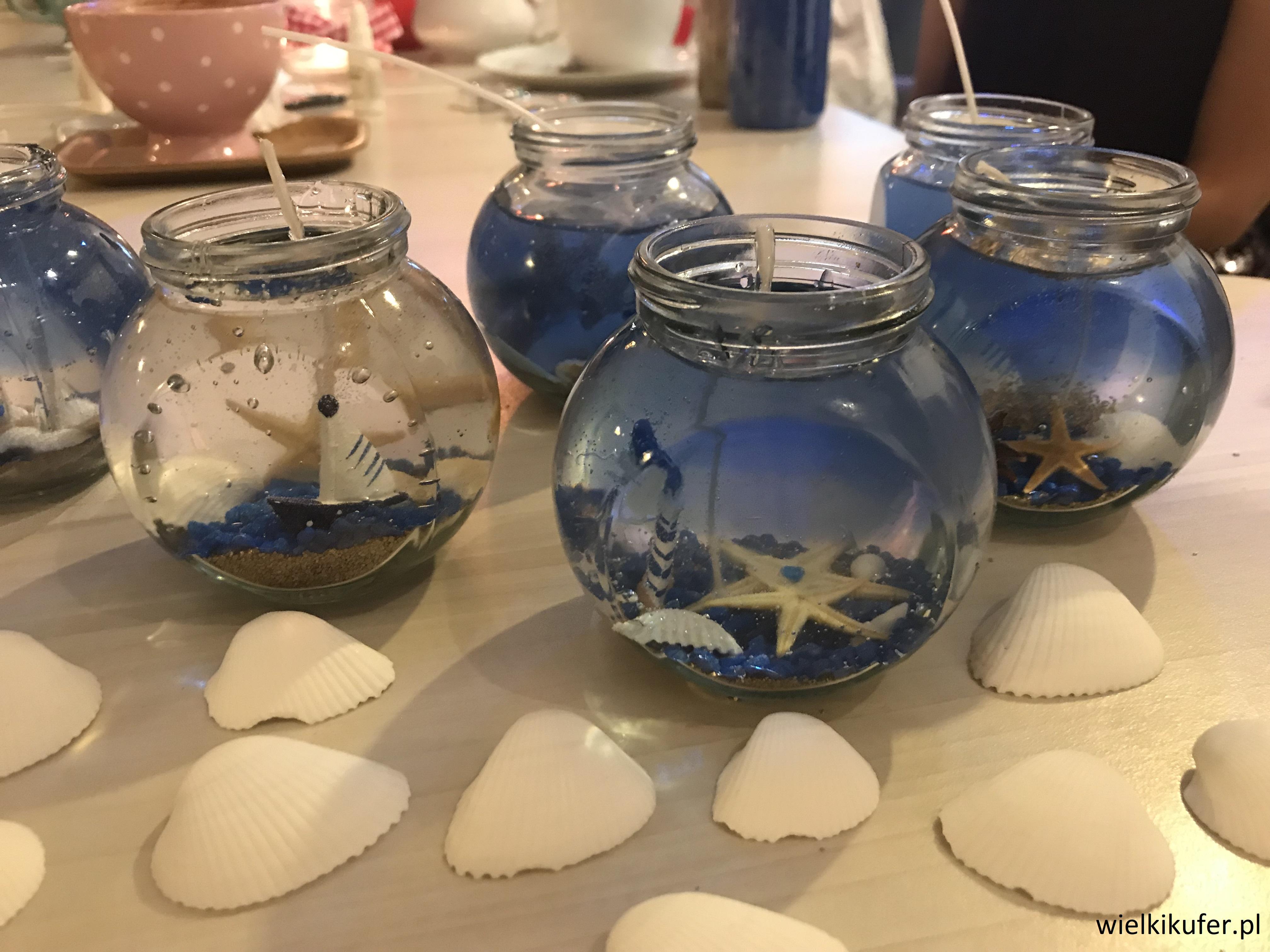 Warsztaty tworzenia świec żelowych  – pomysły na wieczór panieński