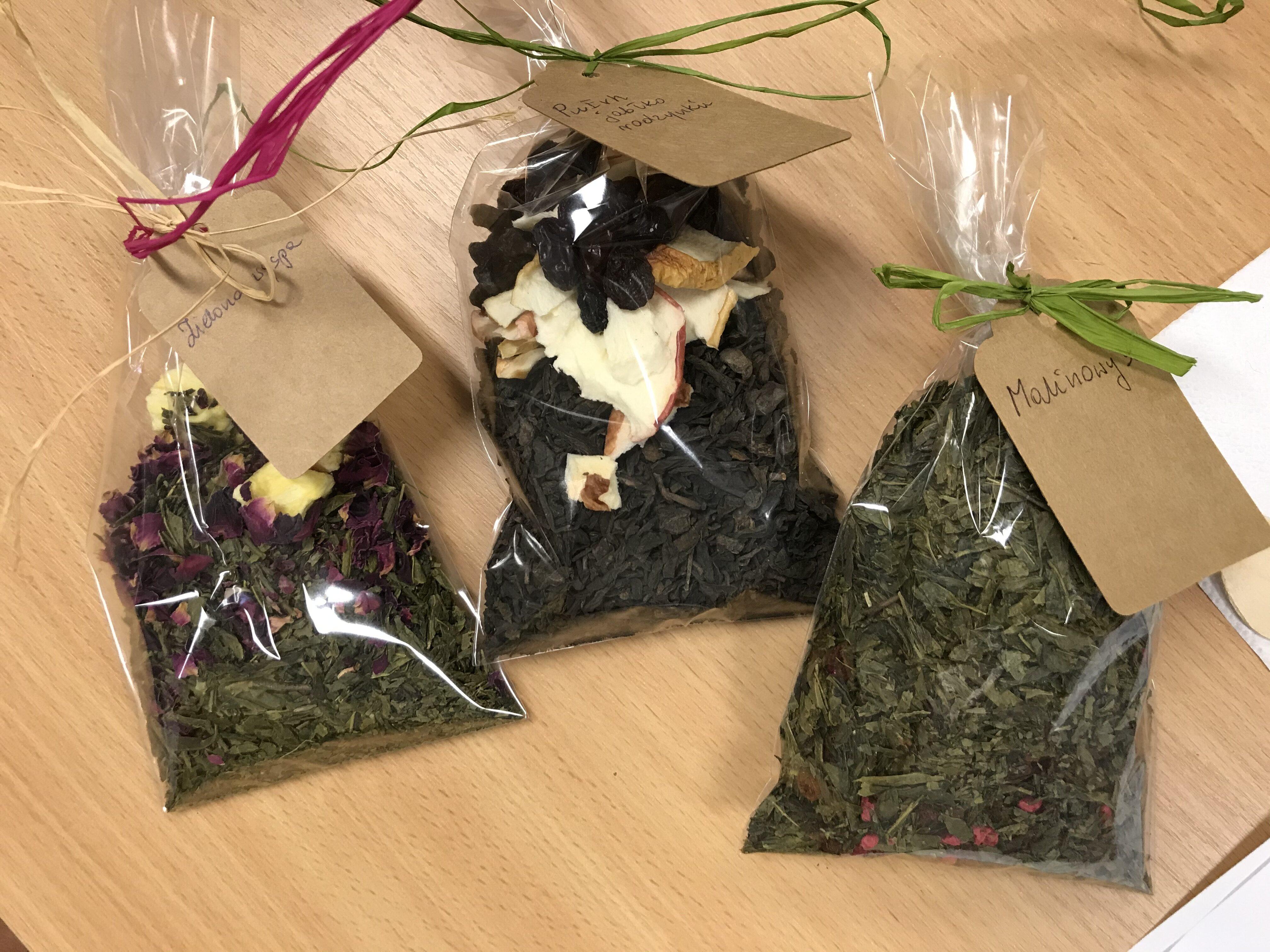 Warsztaty tworzenia ekologicznych herbat
