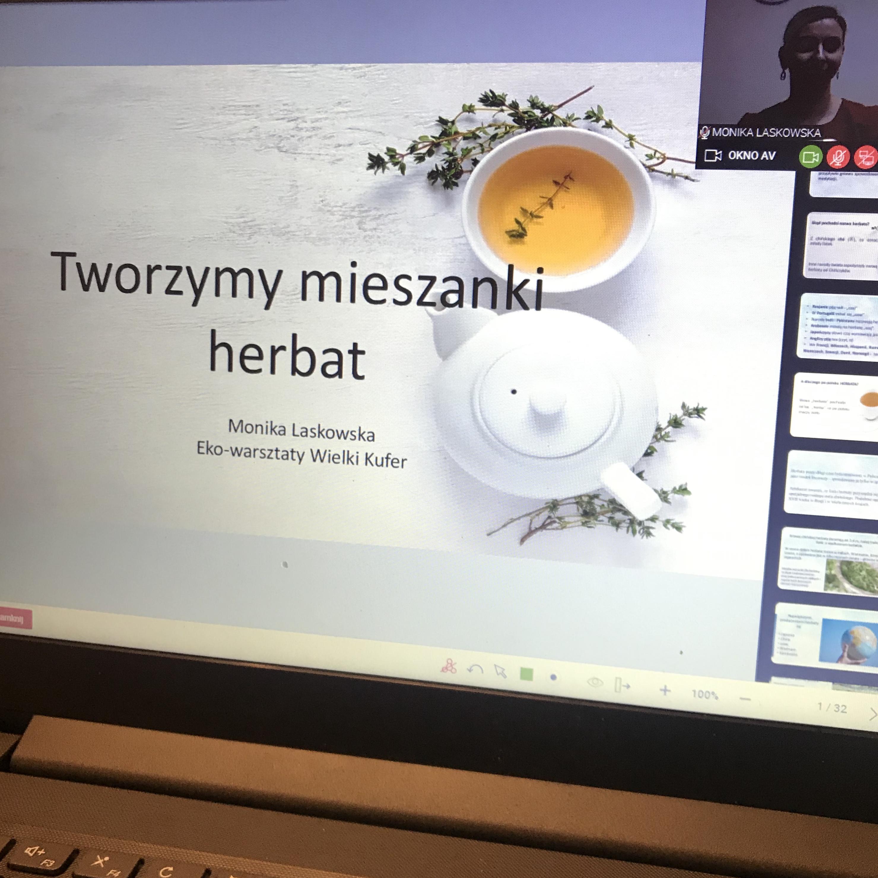 Warsztaty online – tworzymy mieszanki herbat